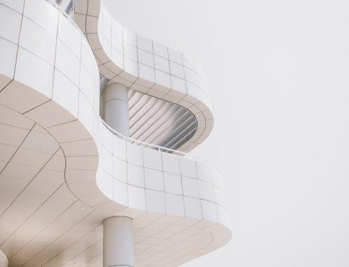 Unique building architectural design